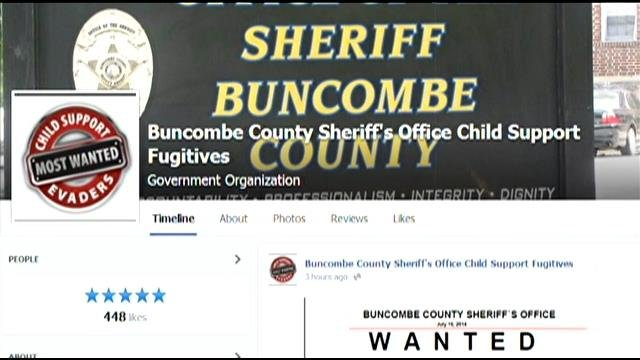 A look at the new Facebook page created by the Buncombe Co. Sheriff's Office. (Source: Facebook)