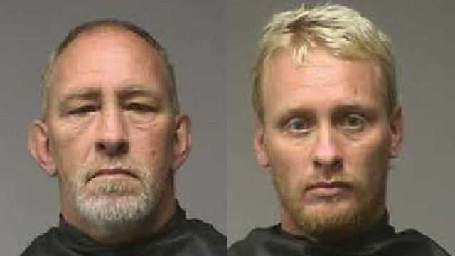 Mitcheal Townsend (L) and Gregory Townsend  (Source: Pickens County Sheriff's Office)