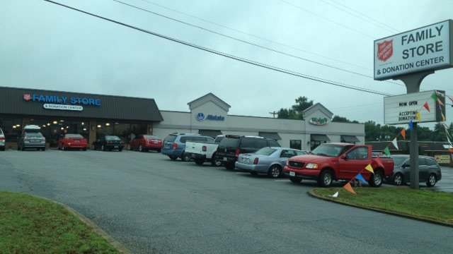 The new store is located on Wade Hampton Blvd. in Taylors. (July 18, 2014/FOX Carolina)