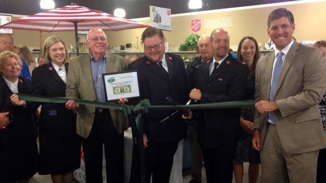 A ribbon cutting was held for the store on Friday. (July 18, 2014/FOX Carolina)