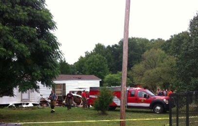 Vehicle crashes into mobile home (FOX Carolina)