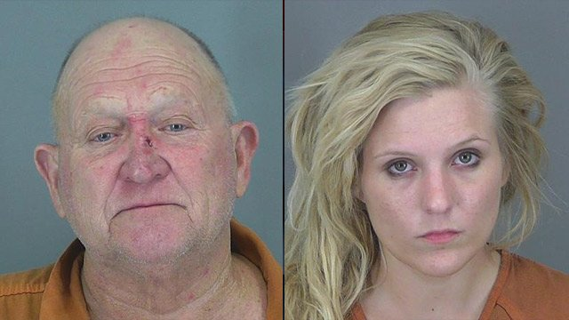 Johnny (L) and Kathryn McSwain (Source: Spartanburg Co. Sheriff's Office)