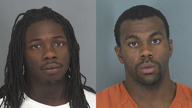 Antoine Shields and Tobias Rogers (Source: Spartanburg County Detention)