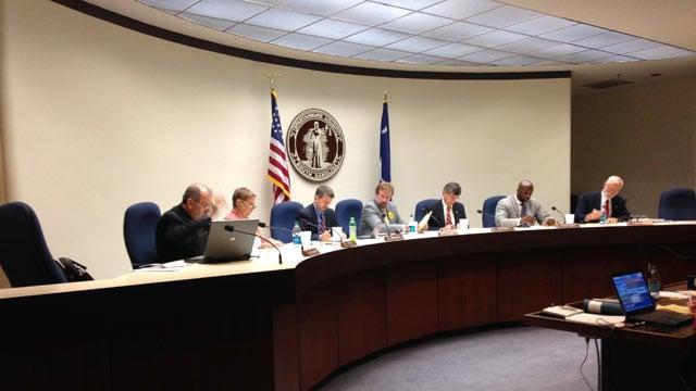 The council passed the referendum, 5-2, on Monday. (July 21, 2014/FOX Carolina)