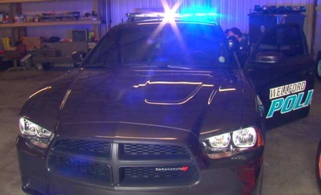 One of the new patrol cars purchased with seized money. (July 22, 2014/FOX Carolina)