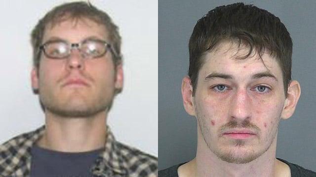Michael James (L) and James Turner III (Source: Spartanburg Police Dept.)
