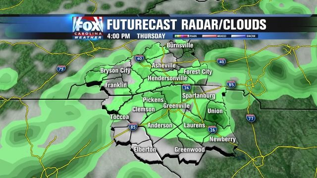 Showers and storms Thursday