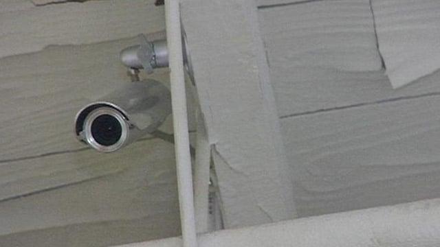 A surveillance camera outside an Upstate home. (File/FOX Carolina)