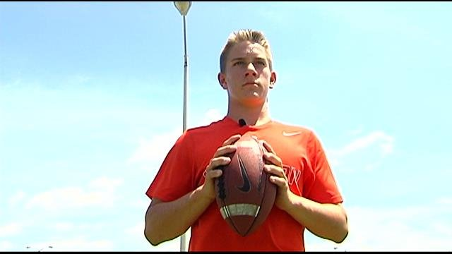 Hunter Marchbanks wants to play professional football or baseball one day. (File/FOX Carolina)
