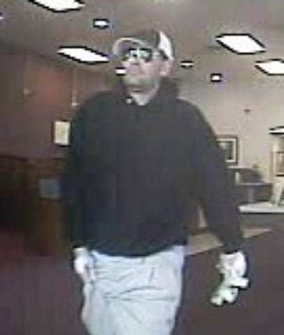 Deputies were searching for this man after the bank was robbed on Thursday. (Source: McDowell County Sheriff's Office)