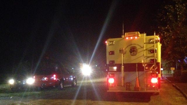 Spartanburg fire and Hazmat crews respond to train derailment. (July 25, 2014/FOX Carolina)