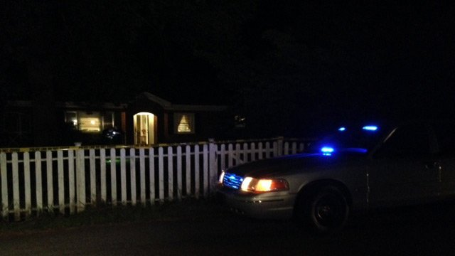 Police were called to the home on Hindman Street around 8 p.m. on Friday. (July 25, 2013/FOX Carolina)