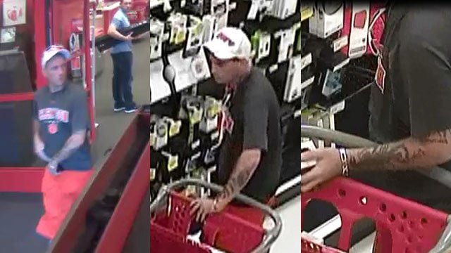 Suspect in Greenville County shoplifting/ weapons offense (FOX Carolina)