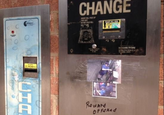 Video police seek spartanburg car wash coin thieves fox carolina 21 the change machine and photos showing two suspects july 27 2014fox carolina solutioingenieria Image collections