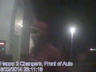 Surveillance photo from Happy Express Car Wash. (Source: Dave Mitchem)