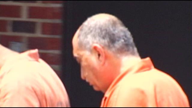 Izzat Khalil outside of federal court. (July 29, 2014/FOX Carolina)