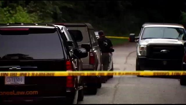 Oconee Co. deputies respond to Jefferson Drive. (July 29, 2014/FOX Carolina)