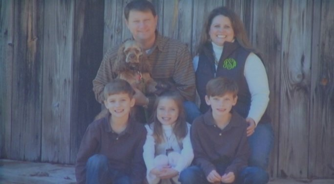 The Schemm family, victims of theft before their planned Mexico vacation. (FOX Carolina)