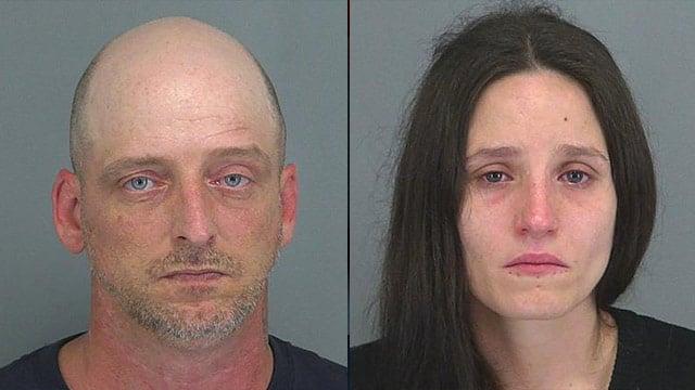 Jarrod Wiggins (L) and Deanna Boubaris. (Source: Spartanburg Co. Detention Center)