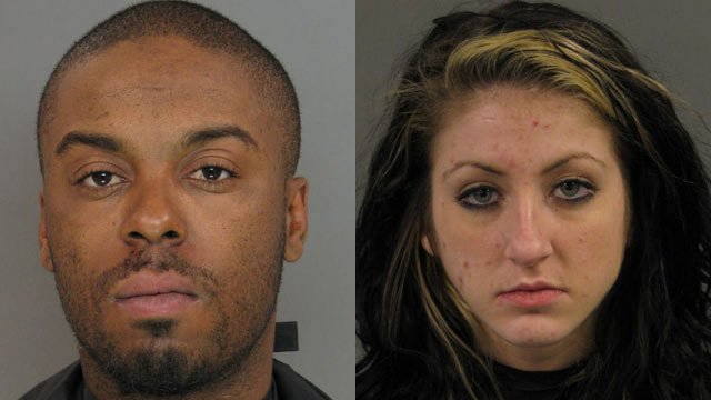 Travis Heard and Dominique Harper (Source: Anderson Co. Sheriff's Office)