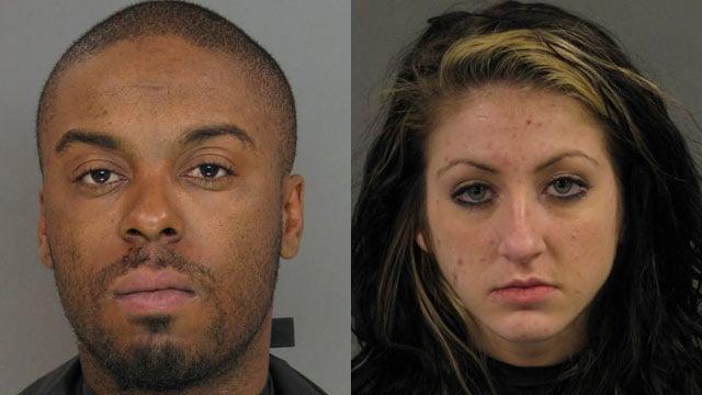 Travis Heard and Dominique Harper (Source: Anderson Co. Sheriff's Office)