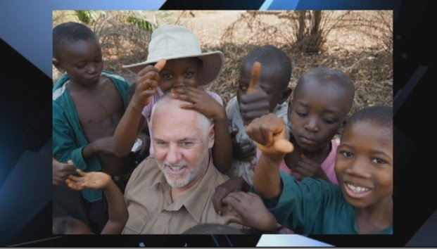 Ronald Bergeron in Africa (Courtesy: Ronald Bergeron)