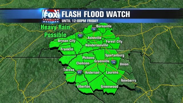 Flooding will be possible through midday Friday