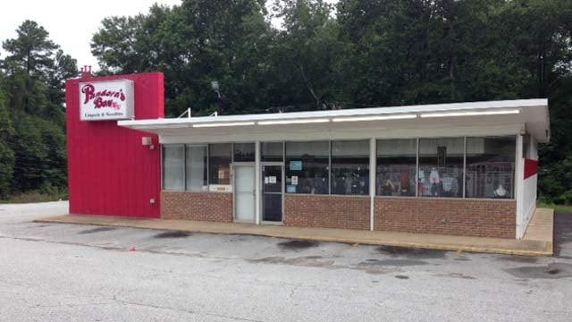 Sheriff Loftis confirmed Pandora's Boxx was robbed on Thursday. (July 31, 2014/FOX Carolina)