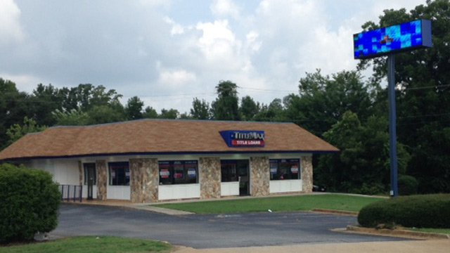 Deputies say the TitleMax was robbed just after 9 a.m. (Aug. 4, 2014/FOX Carolina)