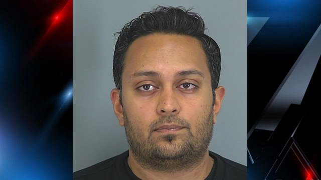 Rajarshi Patel (Source: Spartanburg Co. Detention Center)