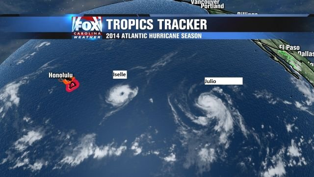 Bracing for 2 tropical systems in Hawaii