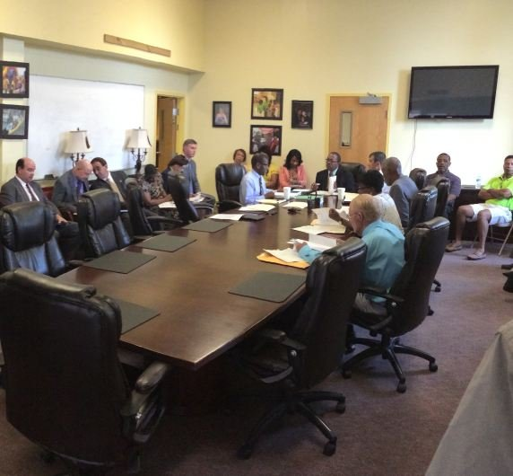The Inspector General and the Governor's Office of Economic Opportunity meets with PCA board members. (Aug. 6, 2014/FOX Carolina)