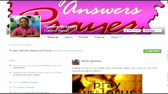 Tammy Brantley's Facebook profile responds to mall incident. (Source: Facebook)