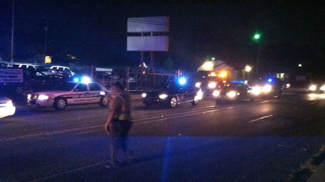 Deputies say the Pickens County chase ended in Greenville County on South Washington Avenue. (Aug. 7, 2014/FOX Carolina)