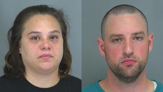 Margaret Ray and Joshua Mayhew (Source: Spartanburg Co. Detention Center)