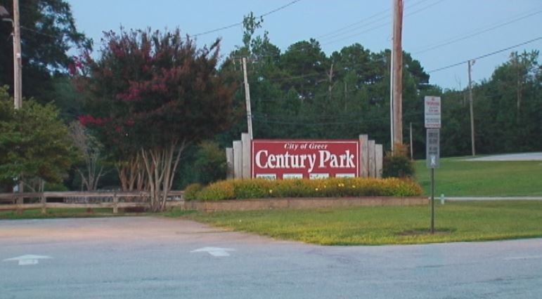 Police said the child was left at Century Park on Thursday. (Aug. 14, 2014/FOX Carolina)