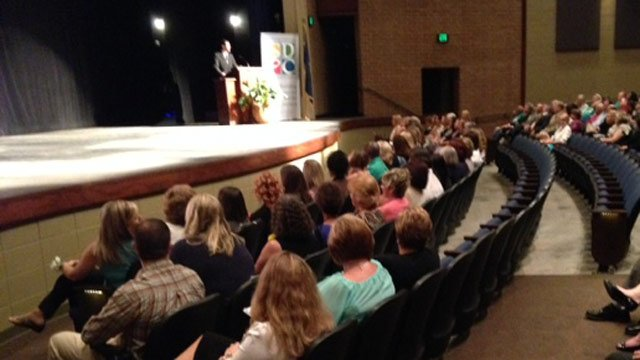School District of Pickens County names teacher of year. (Aug. 15, 2014/FOX Carolina)