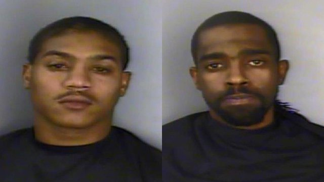 Corey Brown (L) Christopher Johnson (Source: Solicitor's Office)