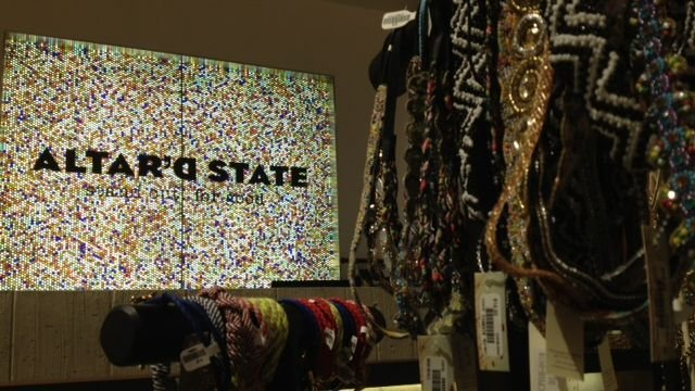 Altar'd State in Haywood Mall in Greenville, SC. (Aug. 18, 2014/FOX Carolina)