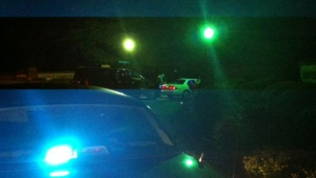Deputies chase after reported stolen car. (Aug. 19, 2014/FOX Carolina)