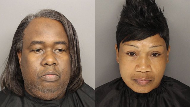 Clarence Dillard (L) and Patsy Robinson. (Source: Greenville Co. Sheriff's Office)