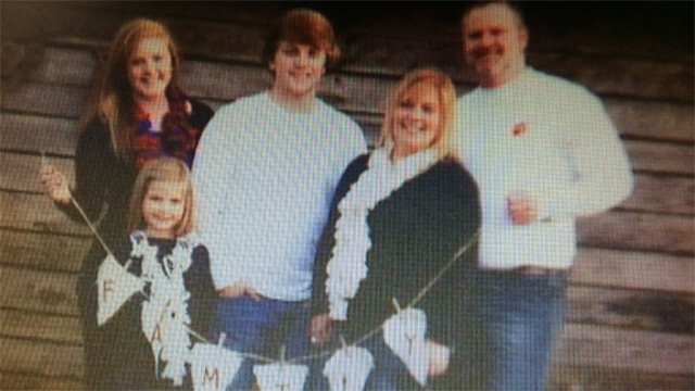 Scott Flowers (far right) with his family. (Courtesy the Flowers)