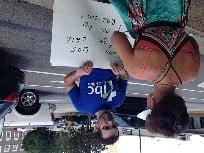 Counter-protestor attends secure the border rally (FOX Carolina: 8/23/2014)