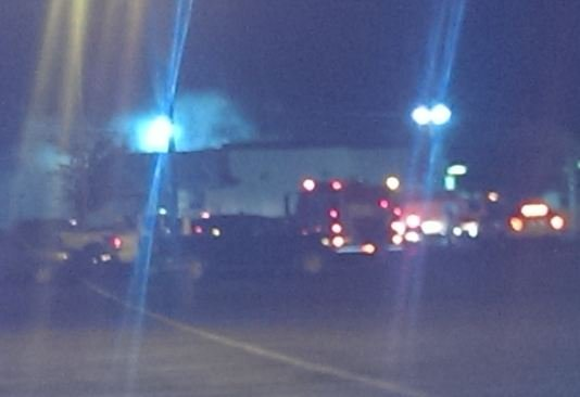 Firefighters battle fire at Belton McDonald's (Courtesy: Michael Reynolds)