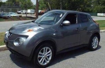 A dark gray 2011 Nissan Juke (Photo provided)