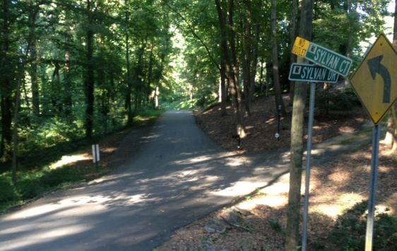 The area where rabid raccoon was seen. (FOX Carolina)