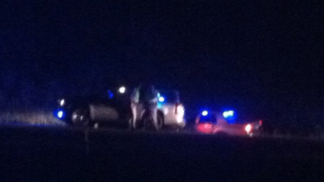 Troopers stopped the wanted SUV along I-26 in Laurens County on Tuesday. (Aug. 26, 2014/FOX Carolina)