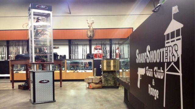 Instructors teach safety at Sharpshooters Gun Club & Range. (Aug. 26, 2014/FOX Carolina)