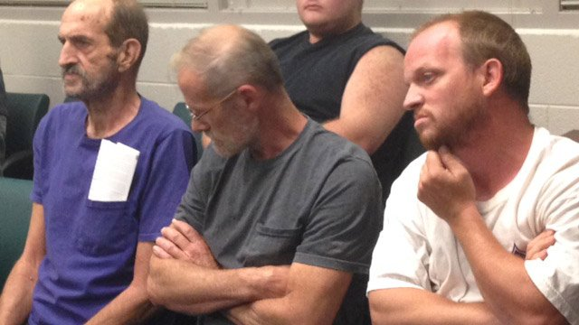 The suspects were given personal recognizance bonds on Wednesday. (Aug. 27, 2014/FOX Carolina)