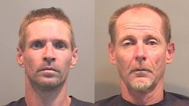 Kenneth Lipsey (L) and Jimmy Rhinehart (R). (Source: Union Co. Detention Center)